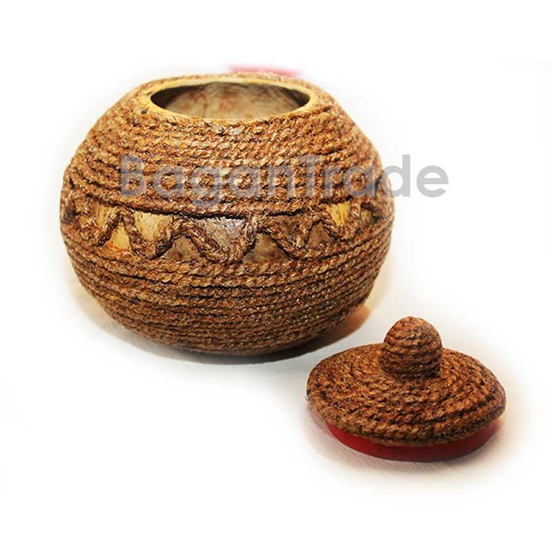 Myanmar Handicraft Coconut Shell Craft Vootee