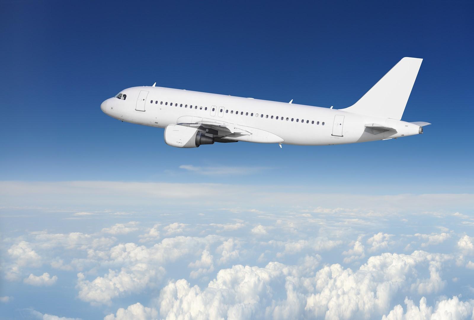 Картинка самолет в профиль
