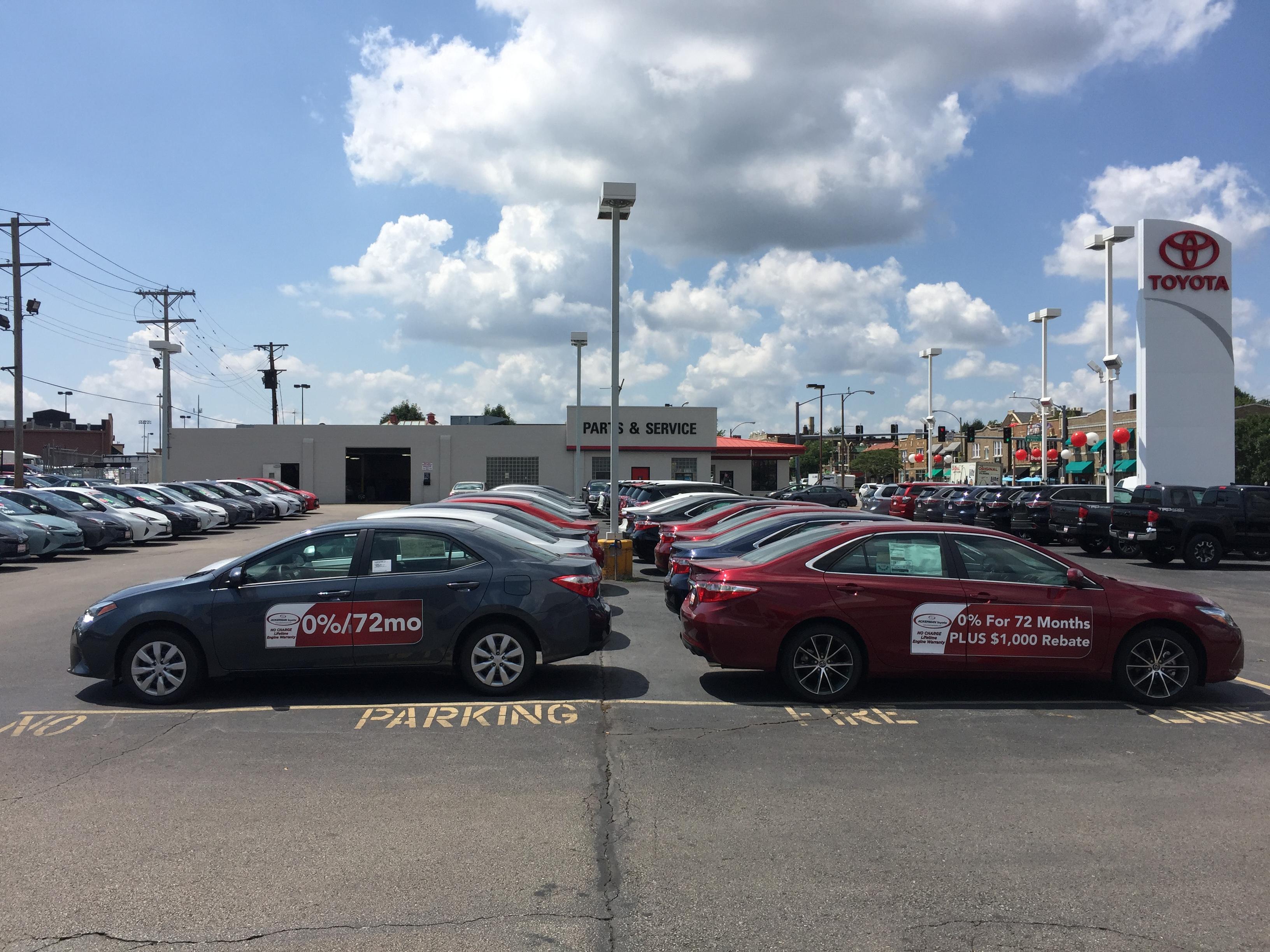 Toyota Dealership St Louis Mo Used Cars Ackerman Toyota