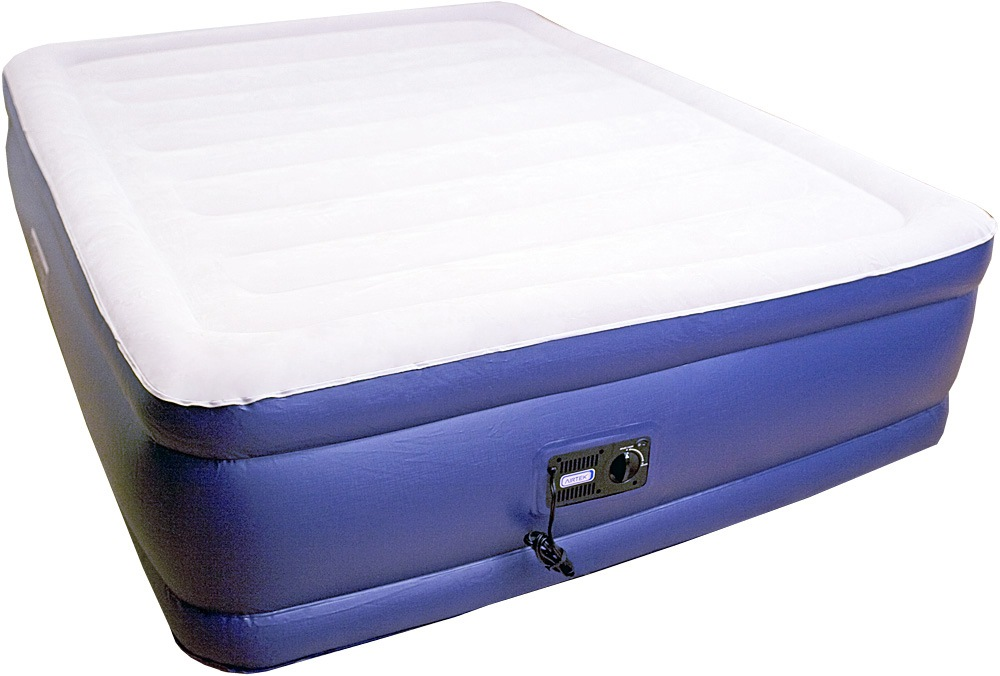Air Mattress With Built In Pump Video Youtube Air