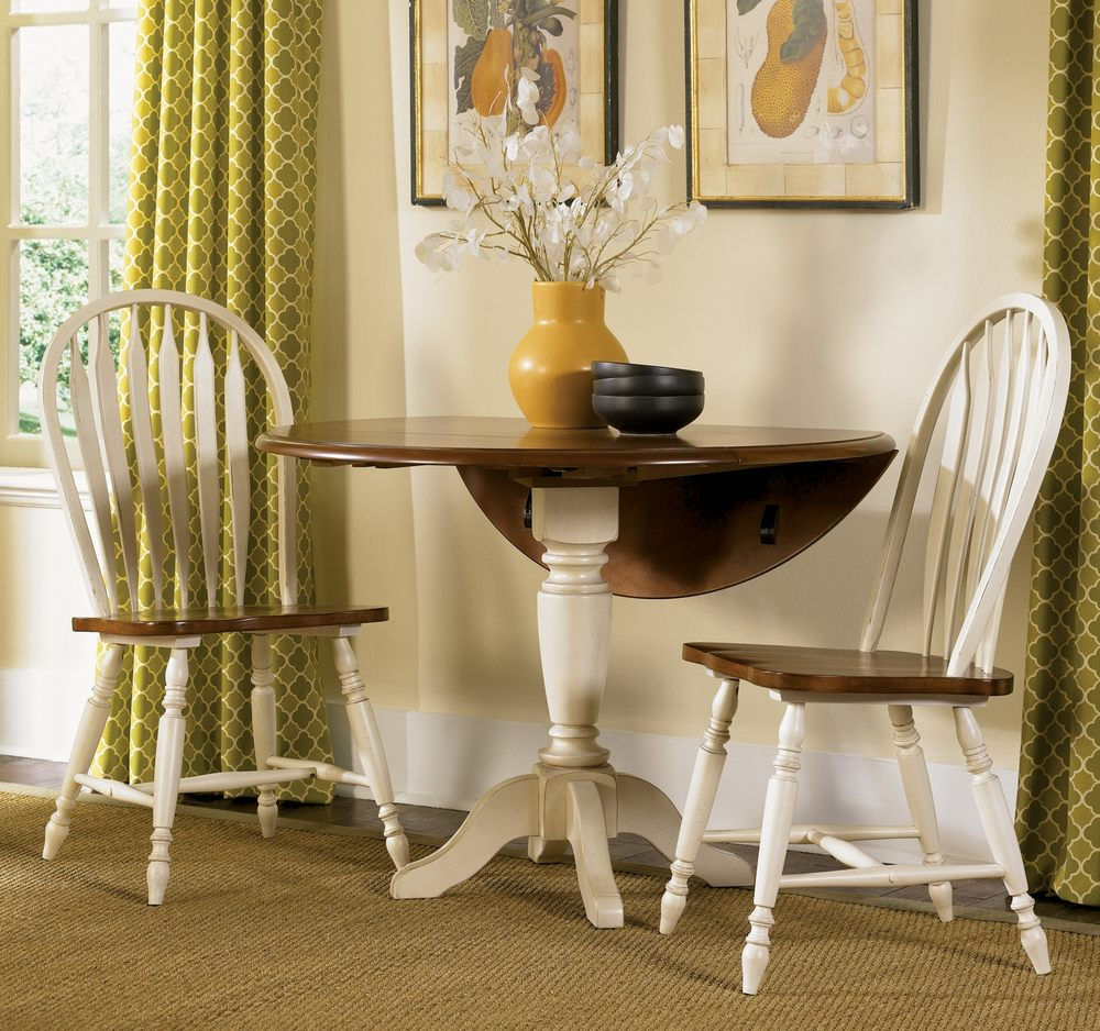 Discounted Dining Room Sets: Round Dining Room Set W/ Windsor Back Chairs