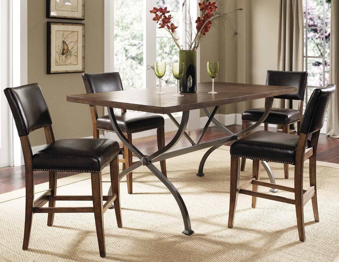 Dining Room Set W Parson Stools Dining Table EFurnitureMart