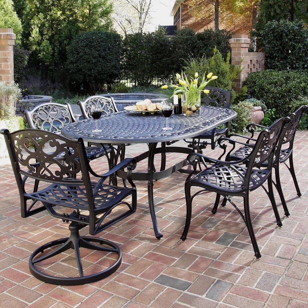 Outdoor dining set patio dining set efurnituremart for Patio furniture table set