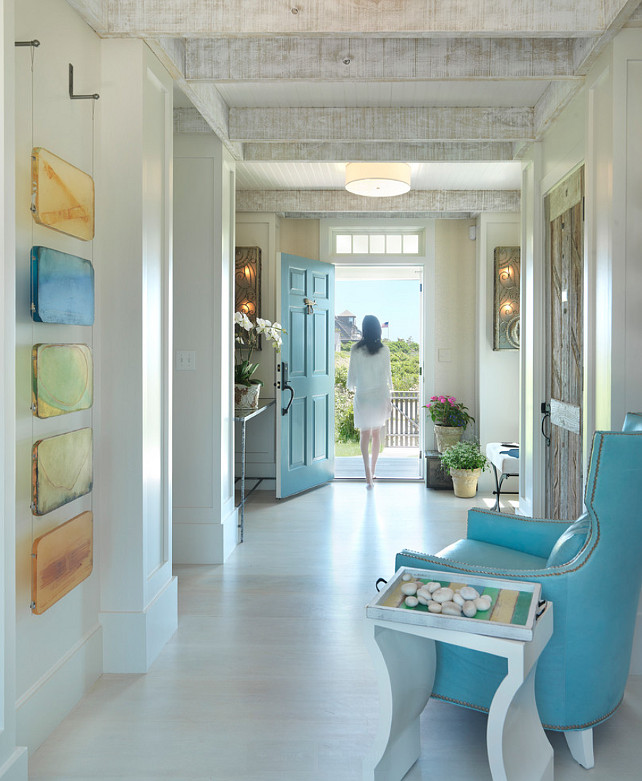 Luxury Beach Home Interiors: Nantucket Beach Cottage With Coastal Interiors