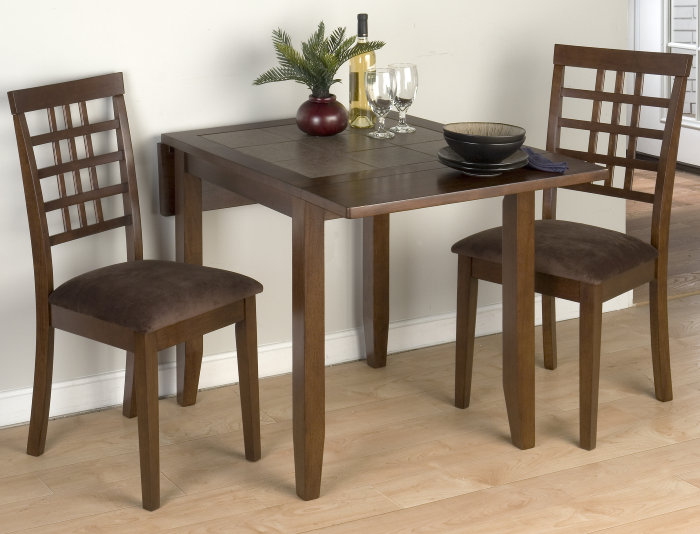 3 piece dining room set efurniture mart home decor for 3 piece dining room table