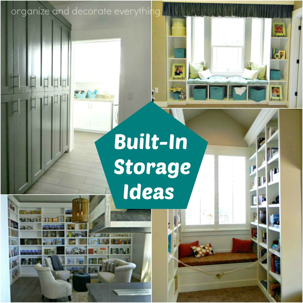 Built in storage ideas organize and decorate everything for Dining room storage ideas
