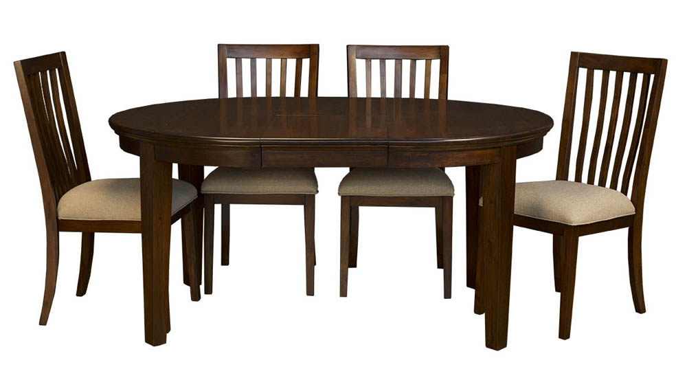 Dining room set w slatback chairs furniture mall llc home decor interior design discount Home design furniture llc