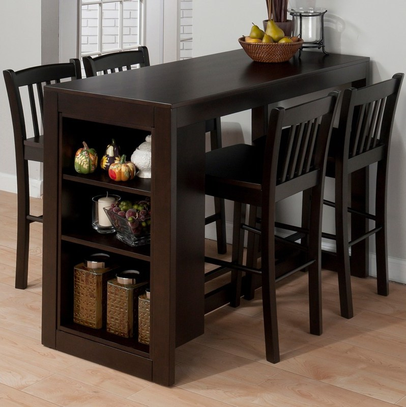 Dining tables counter height kitchen