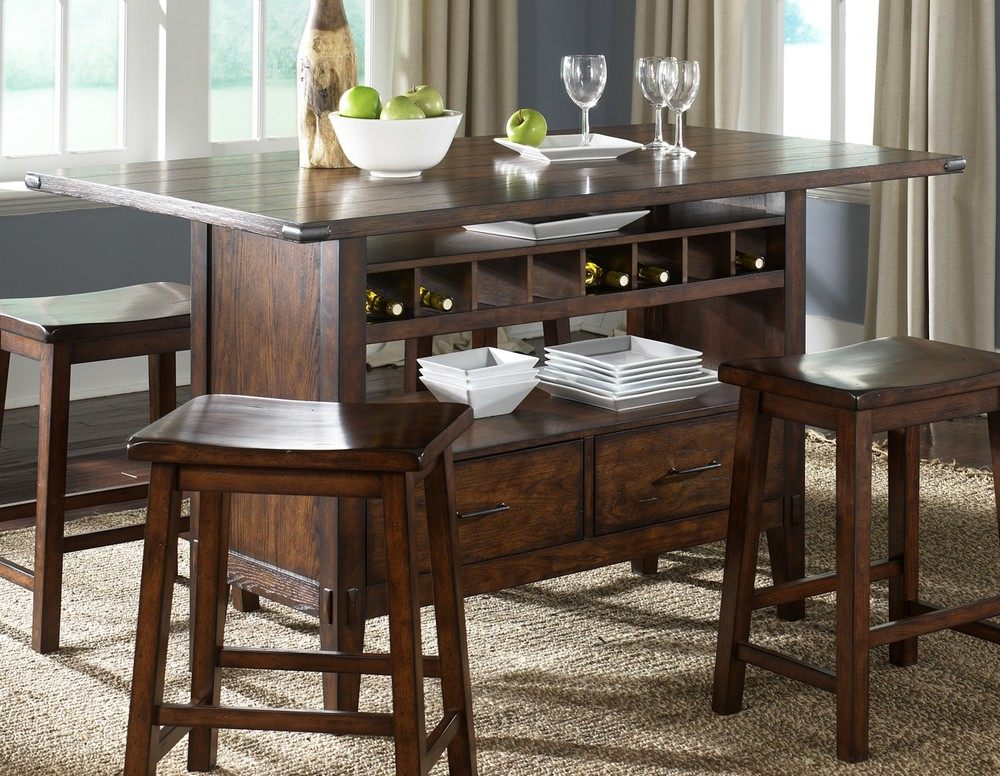 kitchen island dining set 60 215 36 rectangular kitchen island in brown dark wood efurnituremart home decor interior 8063