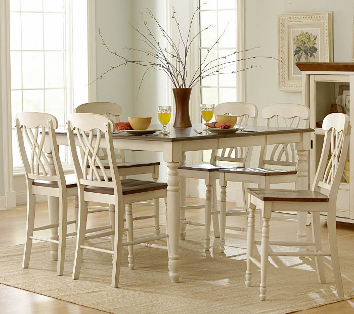 Country Style Dining Room Furniture: A New Look At Country Style Home Decor