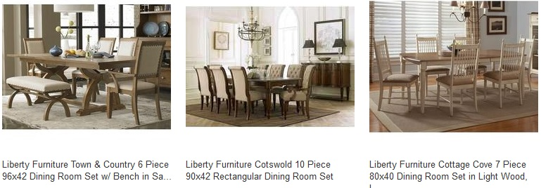 Liberty furniture industries dining sets home decor for Front room furniture sale