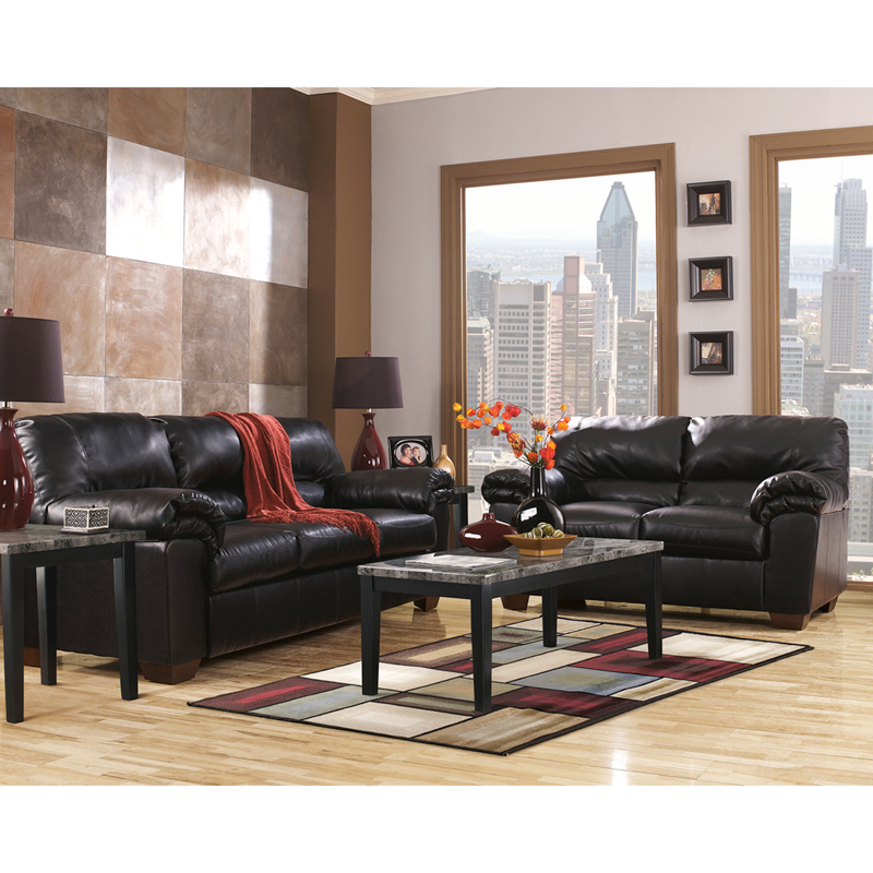 Cyber monday starts now cheap living room sets arm for Black front room furniture