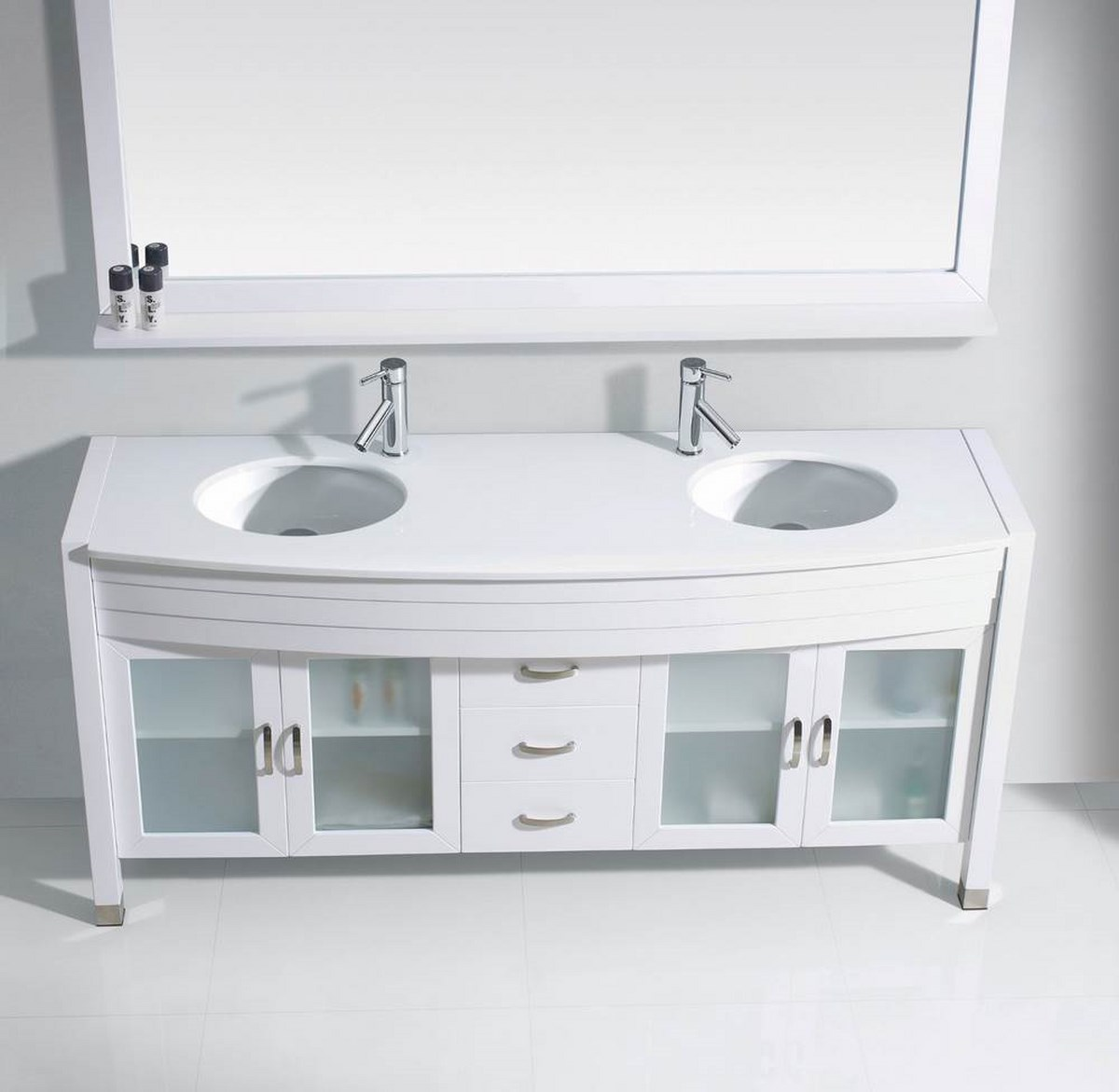 Bathroom vanities double sink vanities home decor for Cheap toilet and sink set