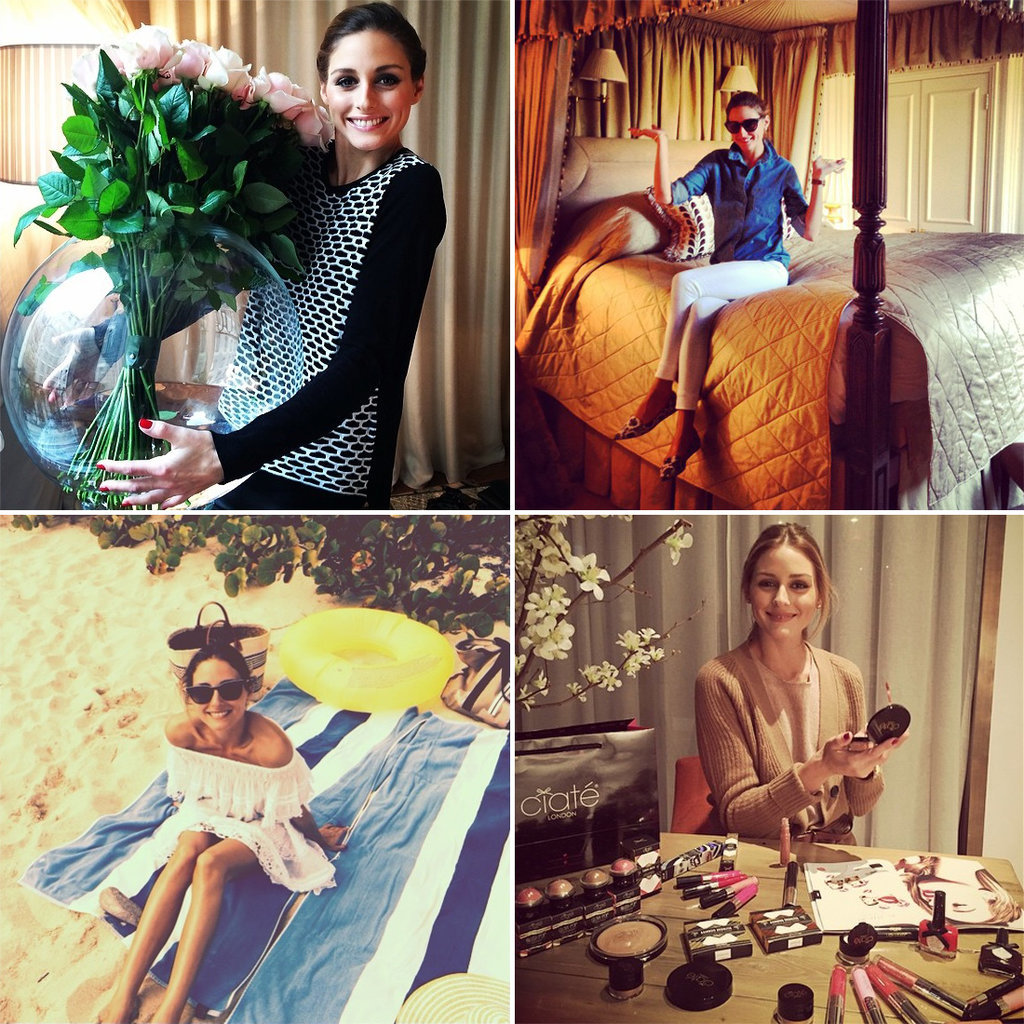 Olivia palermo s best home style moments on instagram for Style at home instagram