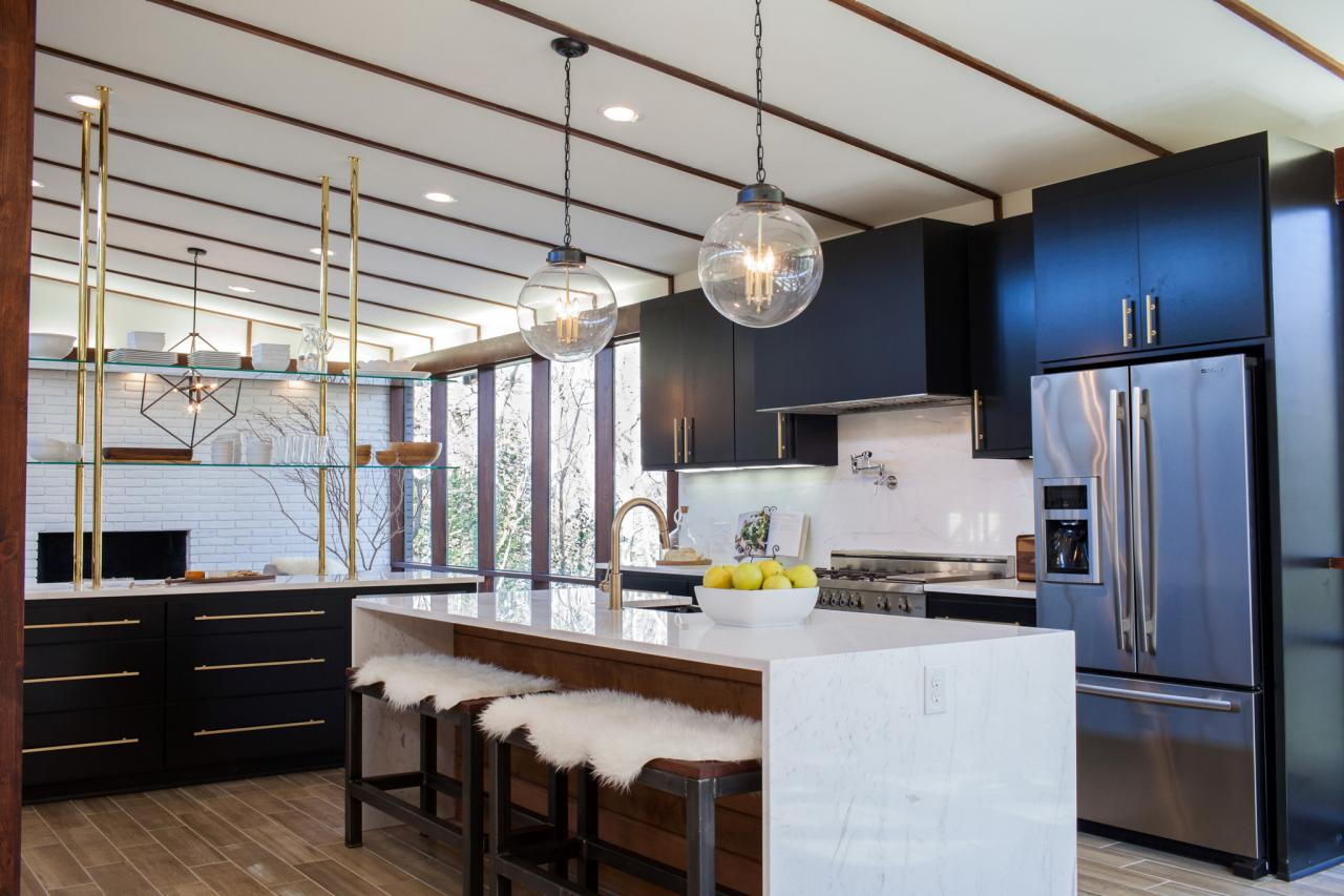 Best Fixer Upper Kitchen Makeovers POPSUGAR Home Home  : efurnitureMart 1451923837 After Cool clean contemporary from efurnituremart.wordpress.com size 1280 x 853 jpeg 132kB
