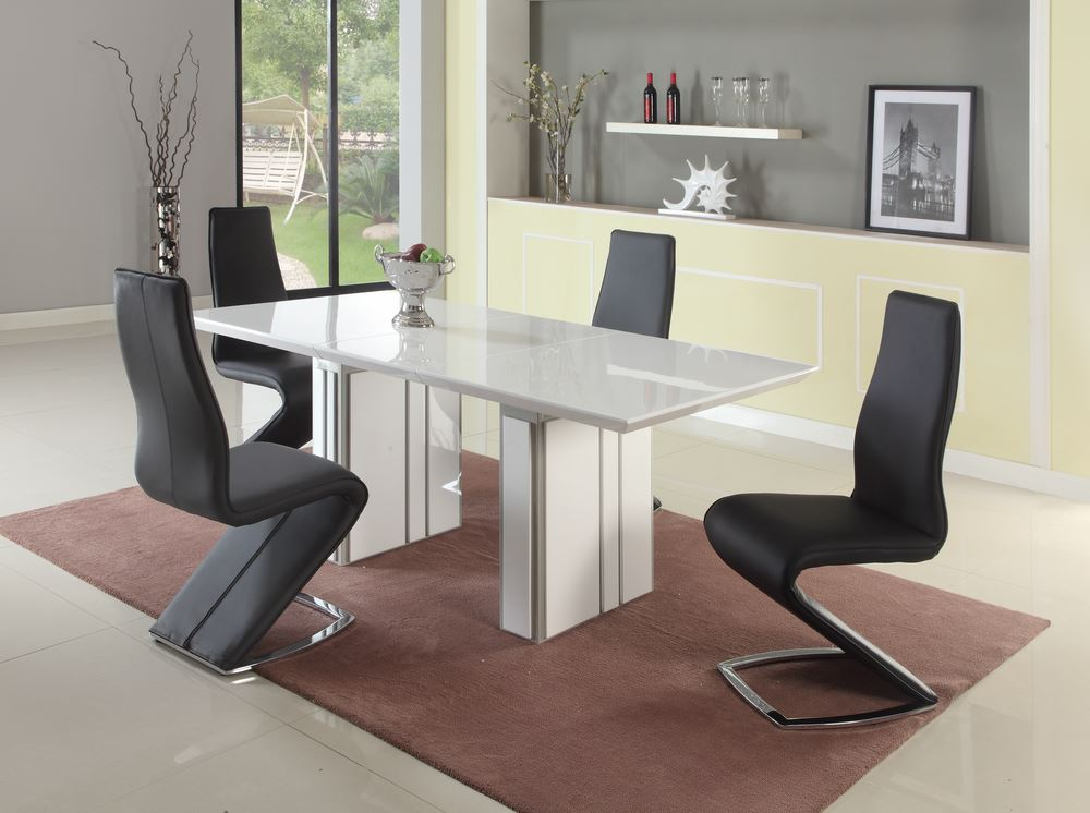 Dining room sets with glass or marble top table home for Cheap front room furniture