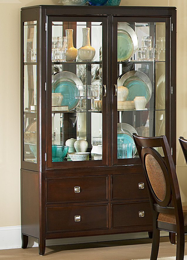 dining room curio cabinets | China & Curio Cabinets – Kitchen & Dining Room Furniture ...
