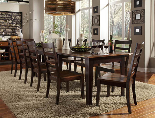 28 dining room furniture deals newbridge cappuccino for Deal rooms furniture