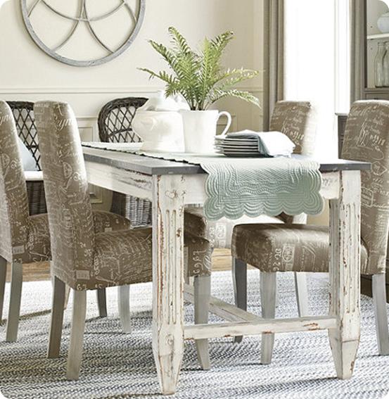 Faux Zinc Dining Table Home Decor Interior Design  : efurnitureMart 1455818822 messina dining tablethumb from efurnituremart.wordpress.com size 553 x 567 png 762kB