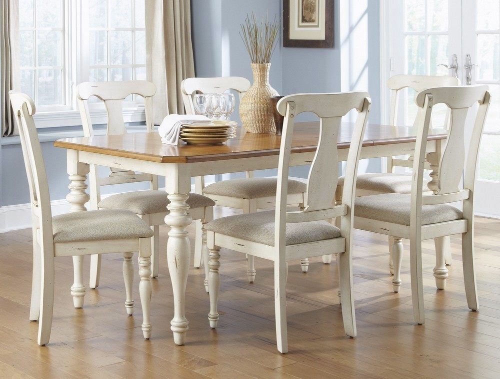 Liberty furniture dining sets chairs and tables w for Light wood kitchen table