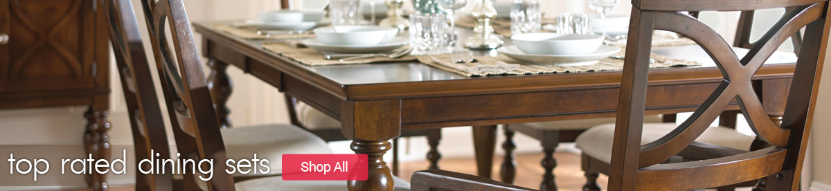 Efurnituremart top online furniture retailer up to 15 for Top rated dining room tables
