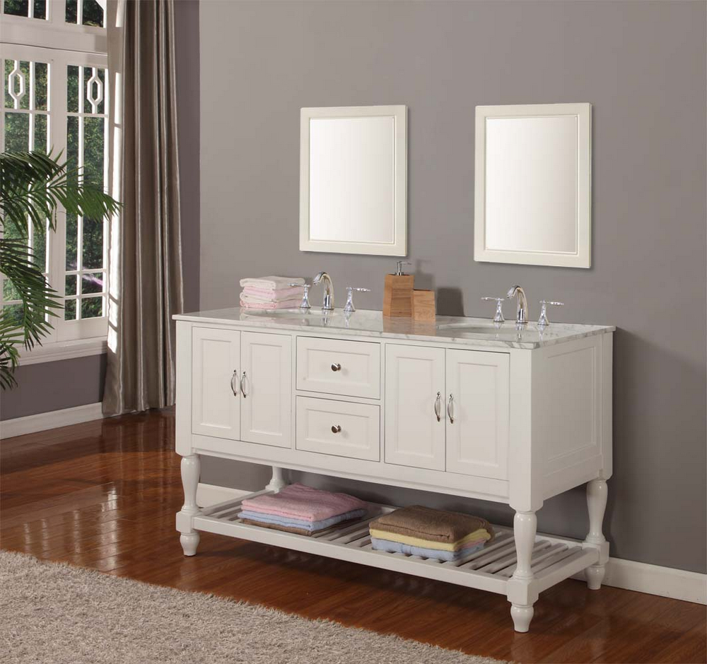 Double sink bathroom vanity tops sale - Double Sink Bathroom Vanities And Linen Cabinets Sale Incredible