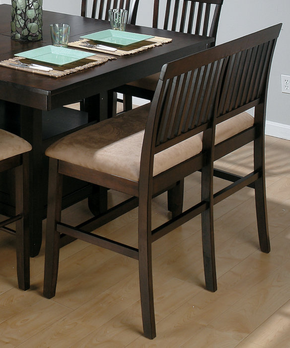 Countertop Height Bench : Dining Chairs, Dining Room Chairs, Dining Bench