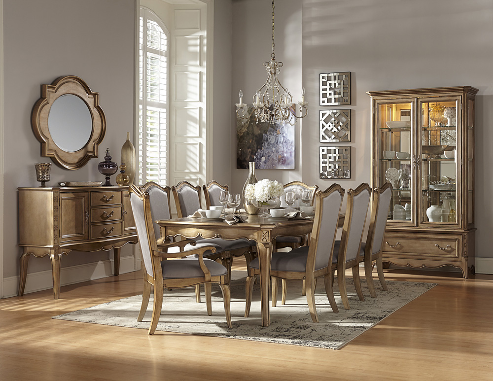 Dining room sets 11 piece sets home decor interior for Art dining room furniture