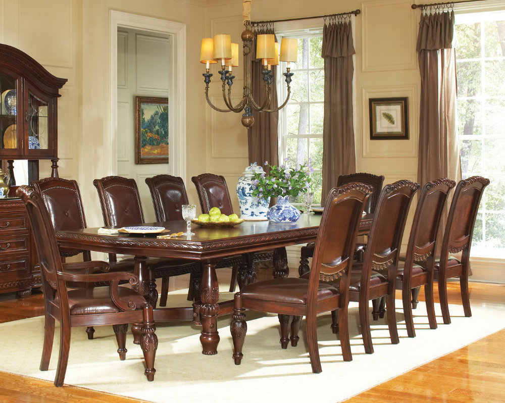 Steve silver furniture dining room sets tables bar for Breakfast room sets