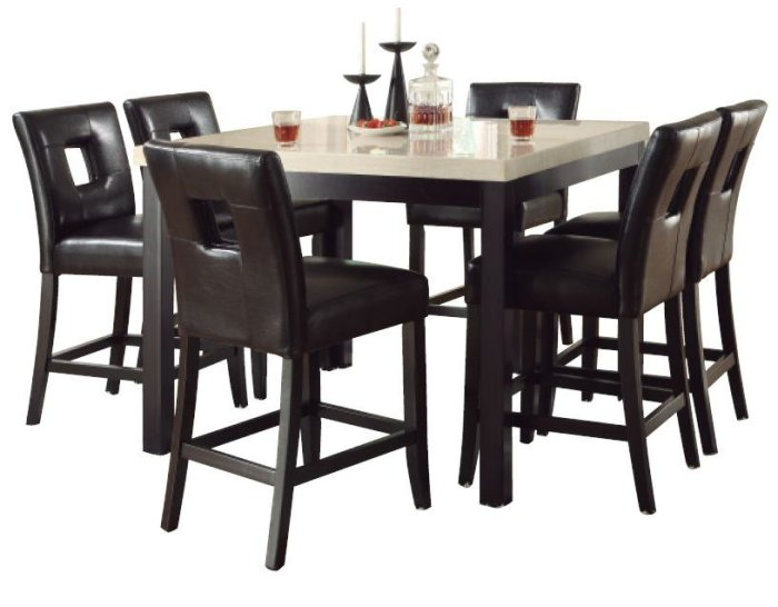 Dining Room Sets Take Another 13 to 16 Off Already Sale  : efurnitureMart 1459775642 Stone Top kitchen Dining Furniture Counter Height Set from efurnituremart.wordpress.com size 700 x 546 jpeg 55kB