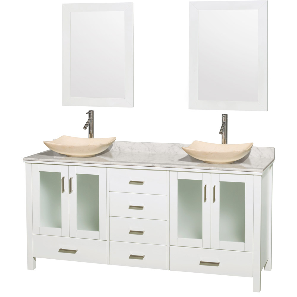Bathroom vanities double sink vanities home decor for Bath and vanity set