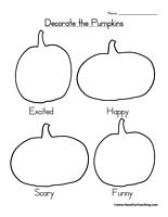 havefunteaching 1414590276 halloween worksheet pumpkins Decorate the Pumpkins Worksheet