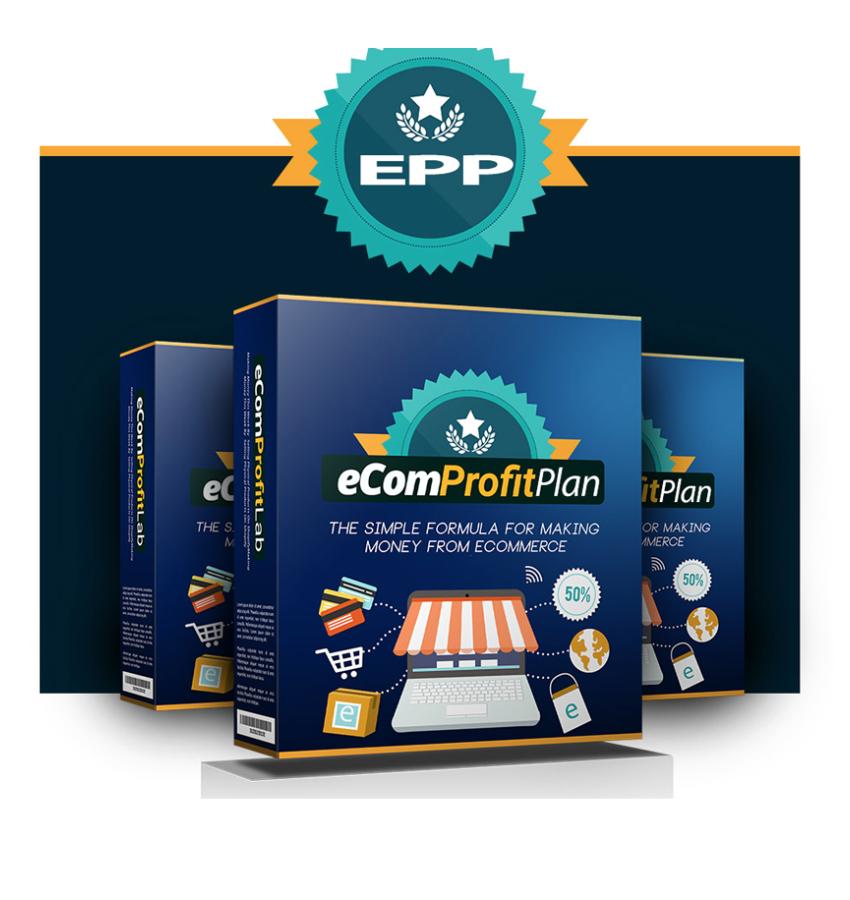 eCom Profit Plan
