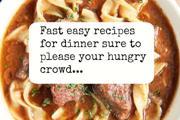 Best fast easy recipes for dinner found on facebook Easy dinner recipes for family of 6