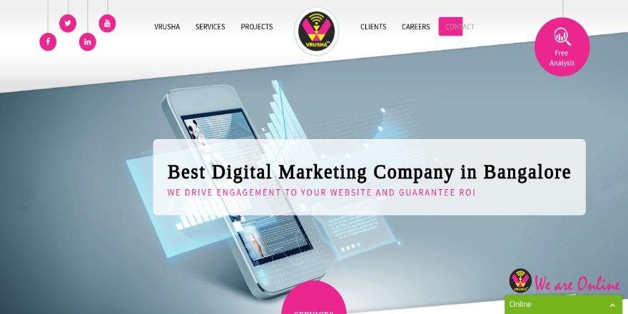Digital Marketing Company & Website Design Company – Search Engine