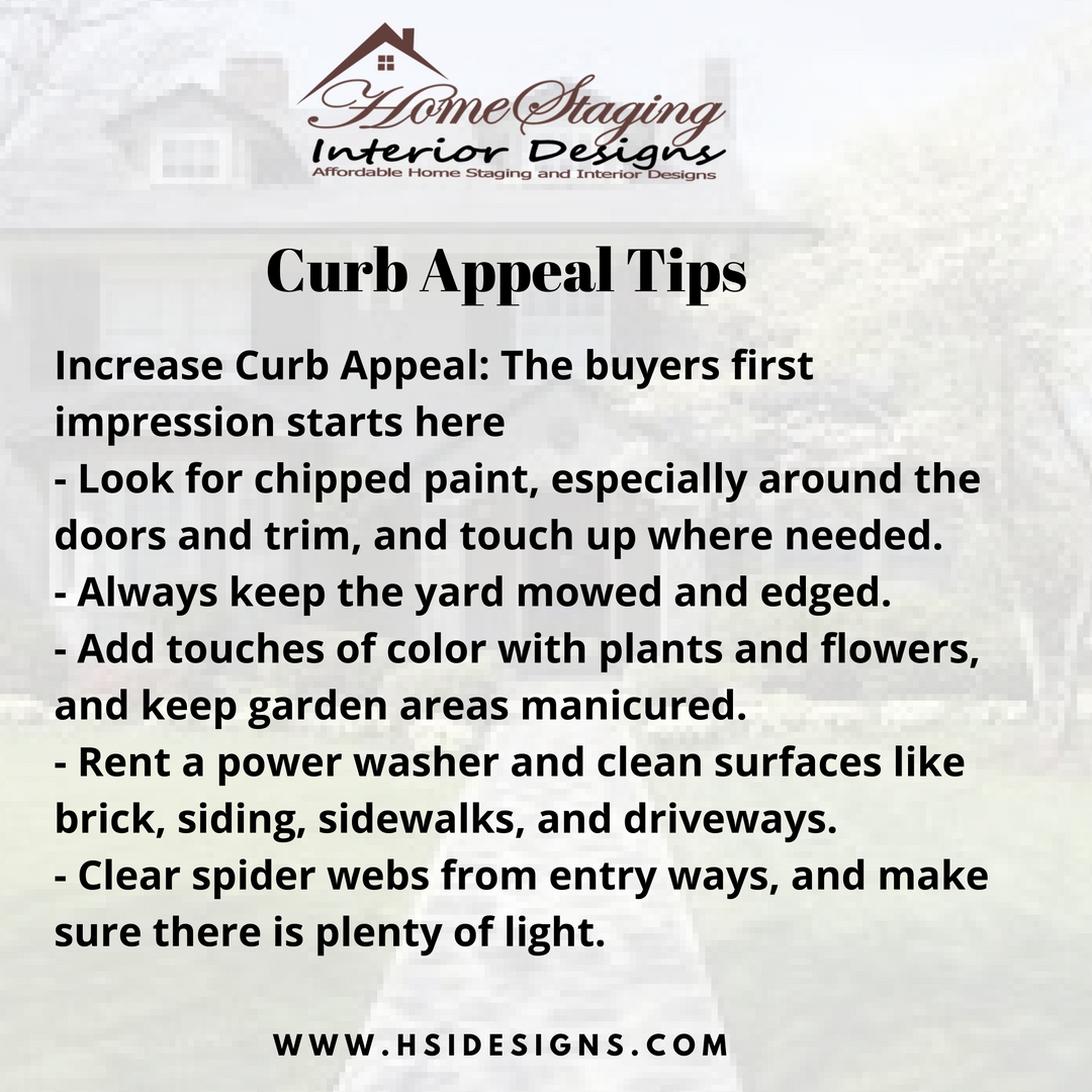 home staging curb appeal tips home staging interior designs