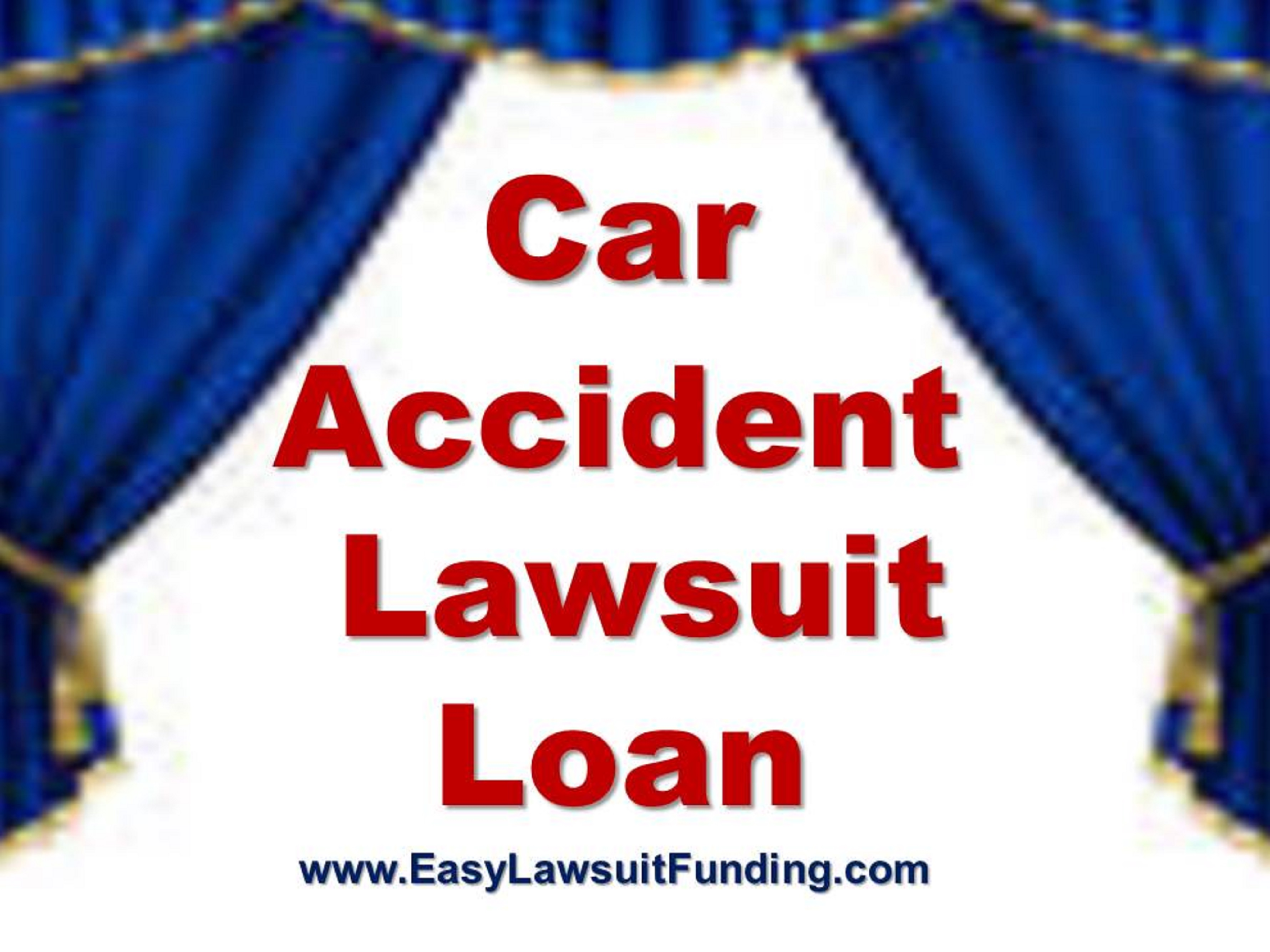 Car Accident Pre Settlement Loans