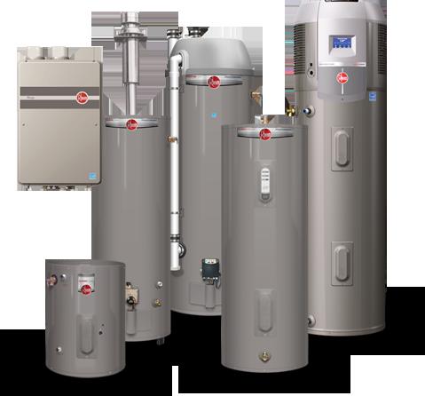 Rheem water heater dating