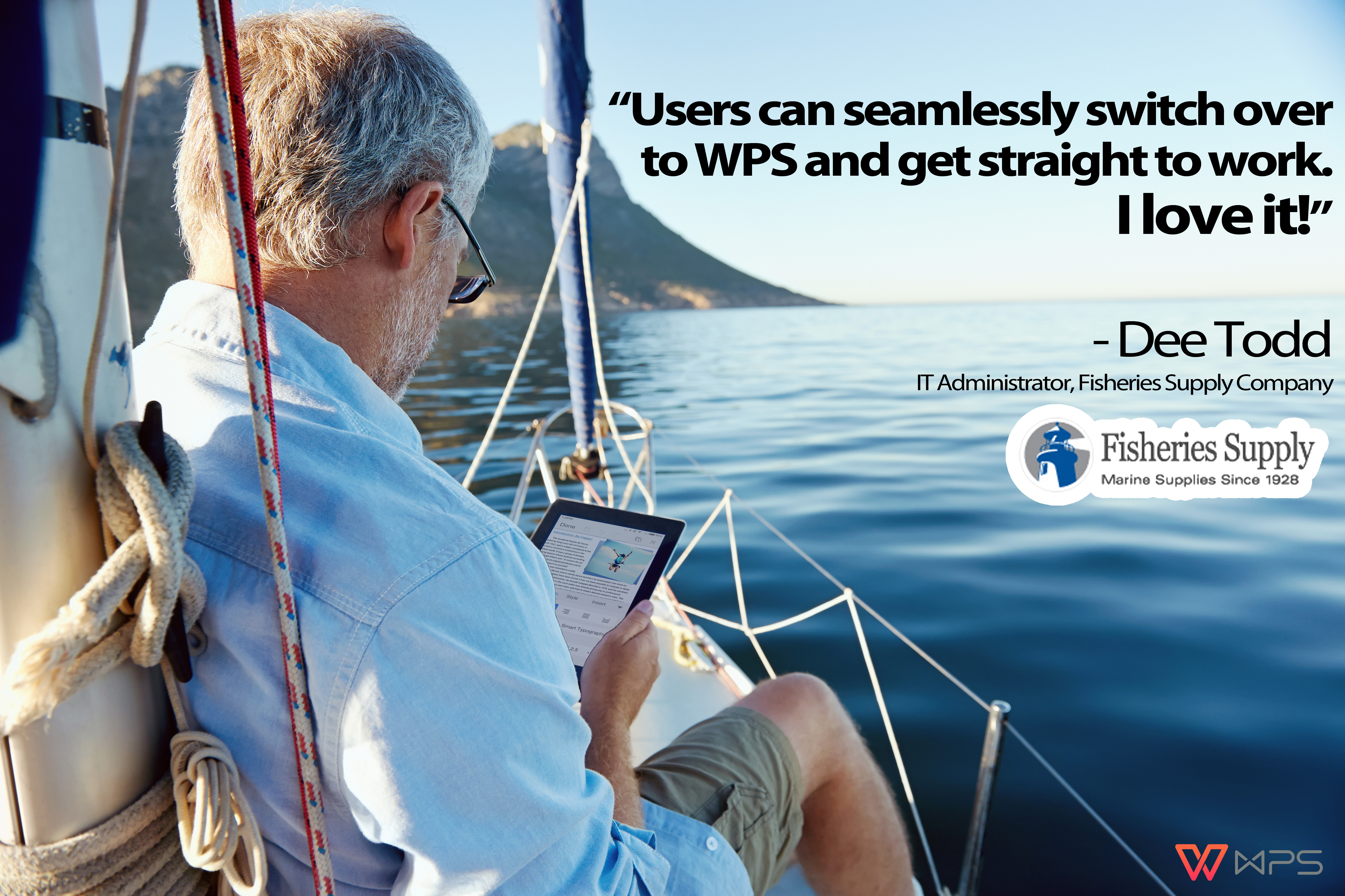 Case study largest distributor of marine products in the for Seattle marine and fishing supply