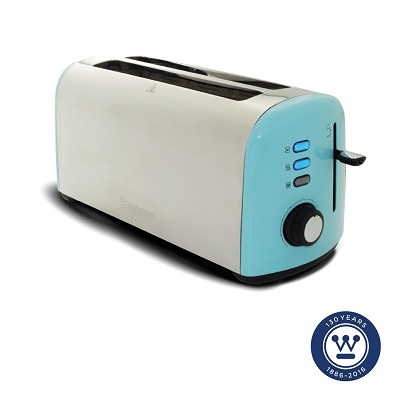 New Long Slot 4 Slice Toaster Model Added to Our Line of